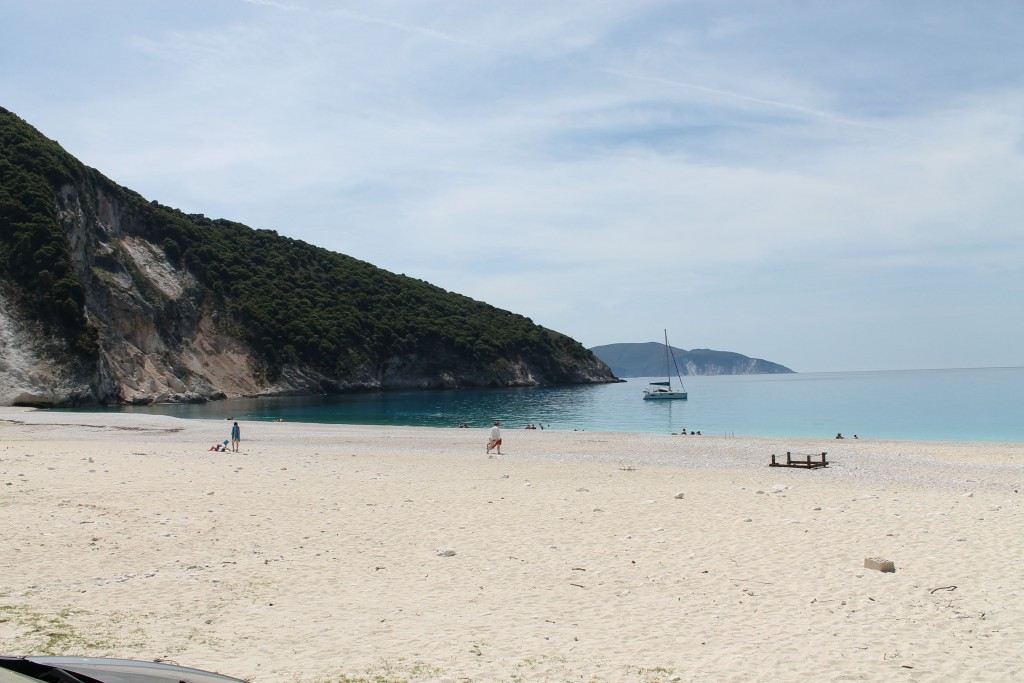 Белый пляж кефалония