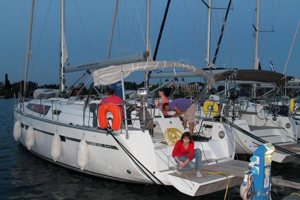 сдача лодки - наводим порядок