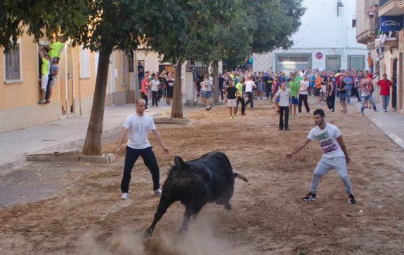 Традиционное развлечение местных жителей