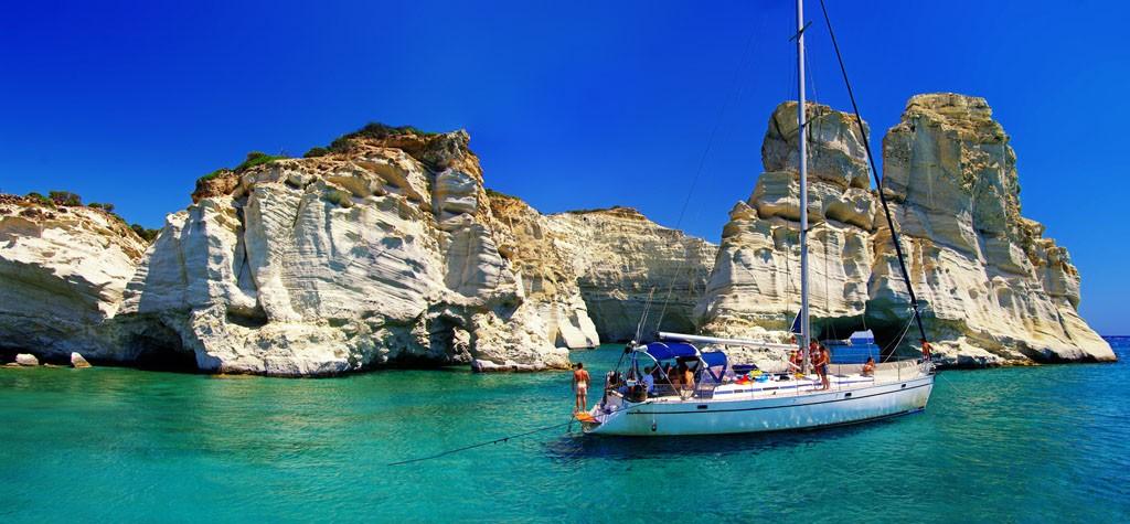 Milos island - Kleftiko bay
