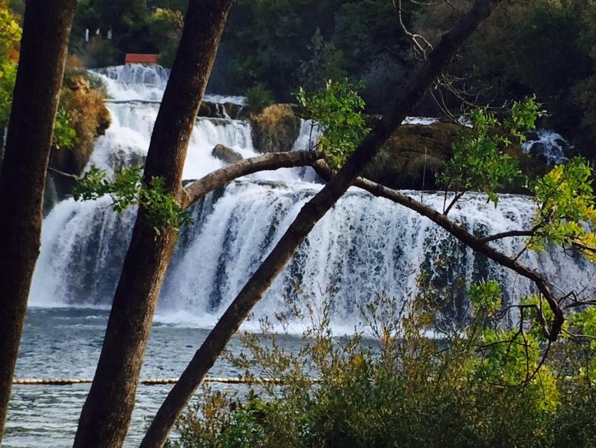 водопады в заповеднике КРК