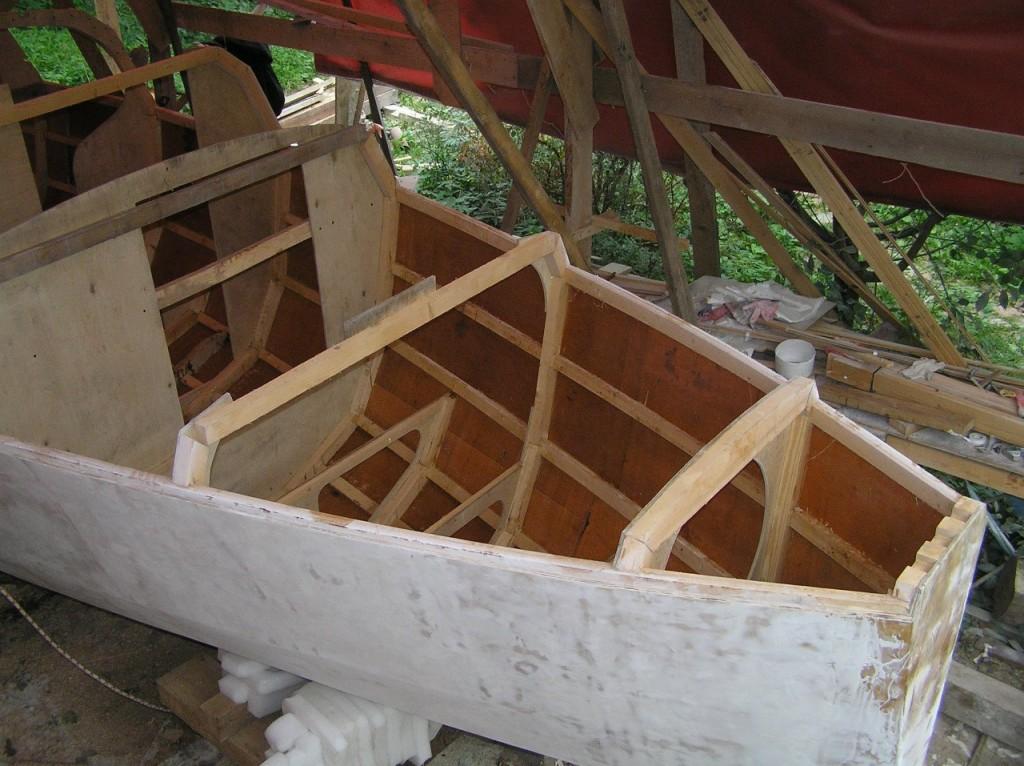 строительство лодки